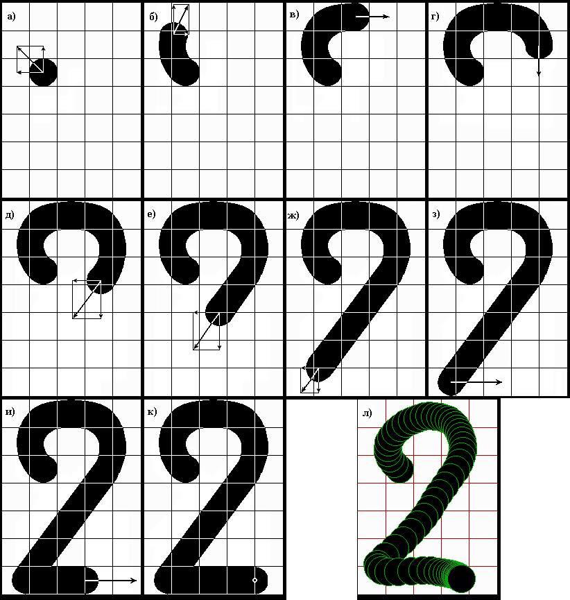 """изображения цифры """"2"""""""